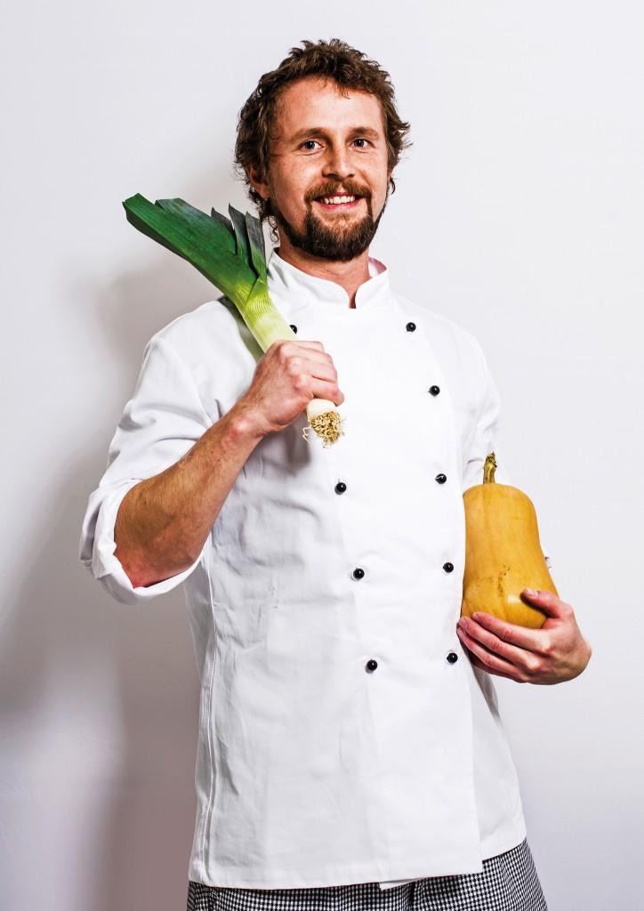 Steht für eine frische, ehrliche Küche: Lekkerei-Koch Michael Schmidt