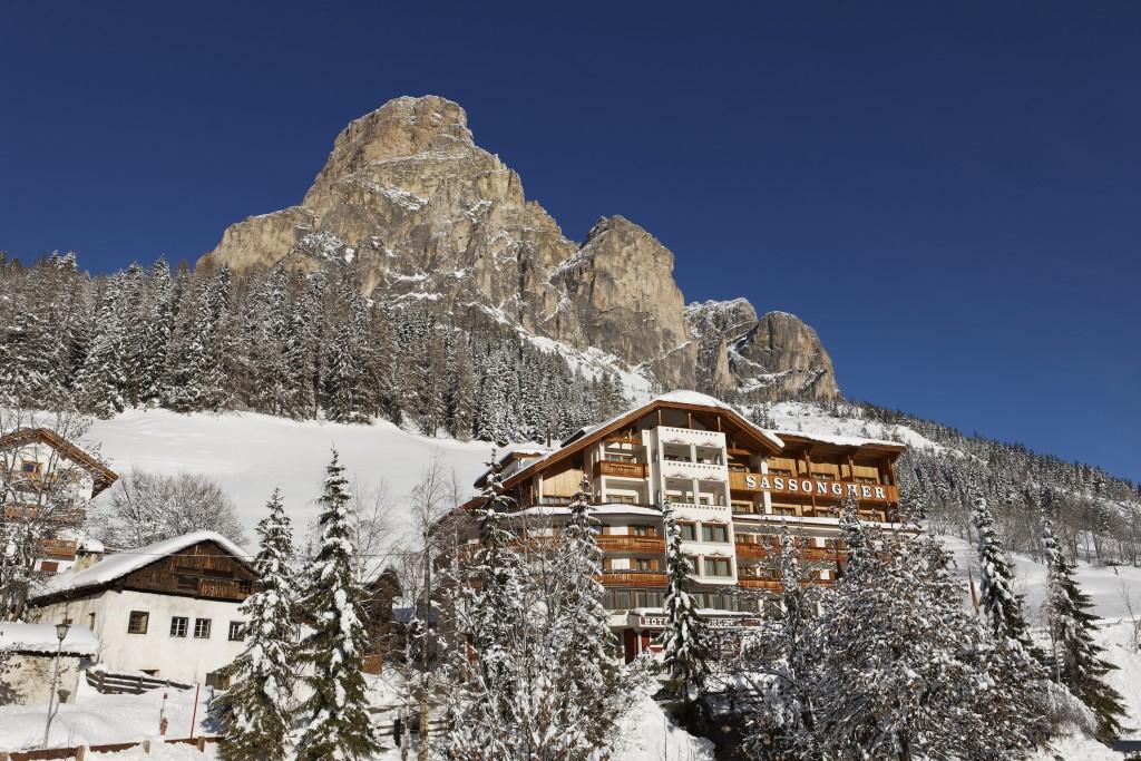 Ein Hotel wie der Berg: das Sassongher