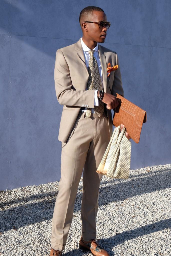 Der Anzug als Klassiker - und jede Menge Accessoires