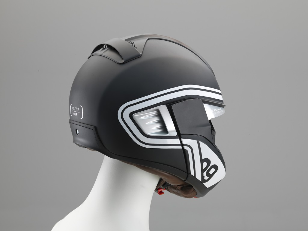 Der Head-up Helm von BMW