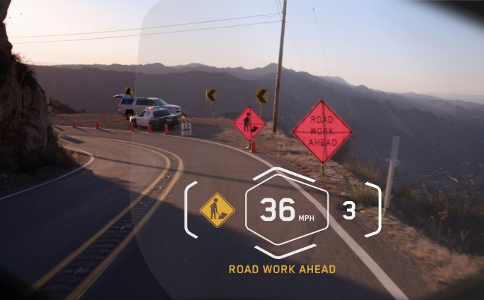 Alles im Blick mit dem Head up Display