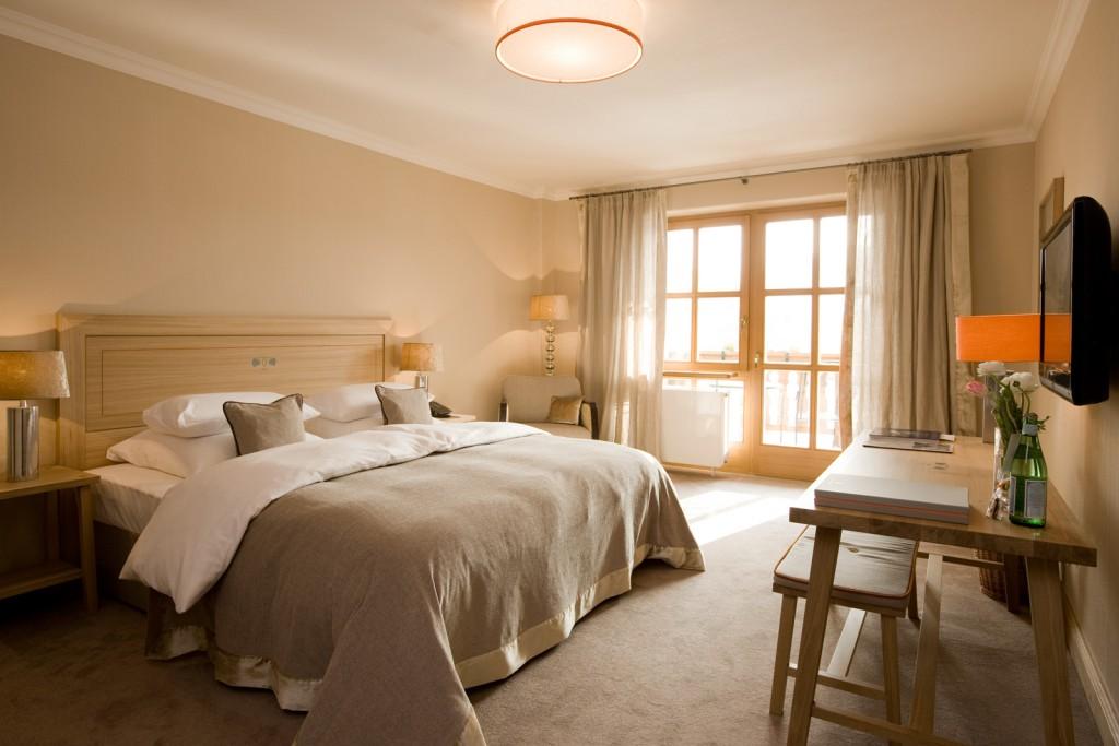 Eines der Zimmer im Bachmair Weissach
