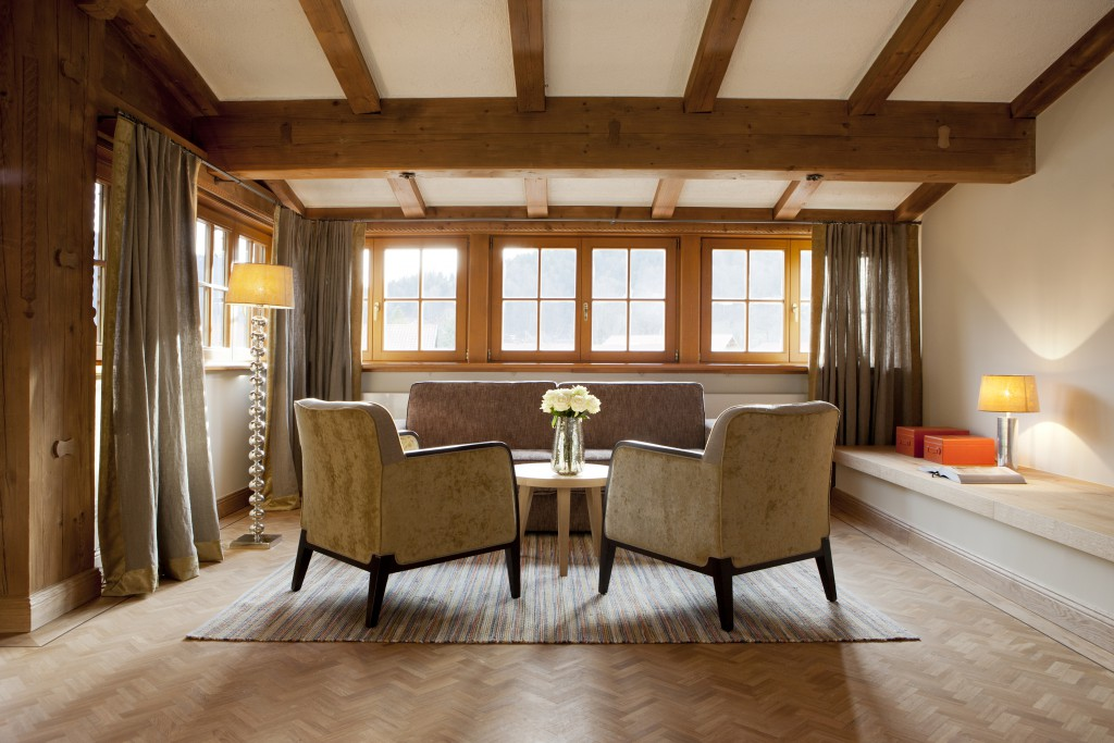 Hotel Bachmair Weissach Suite
