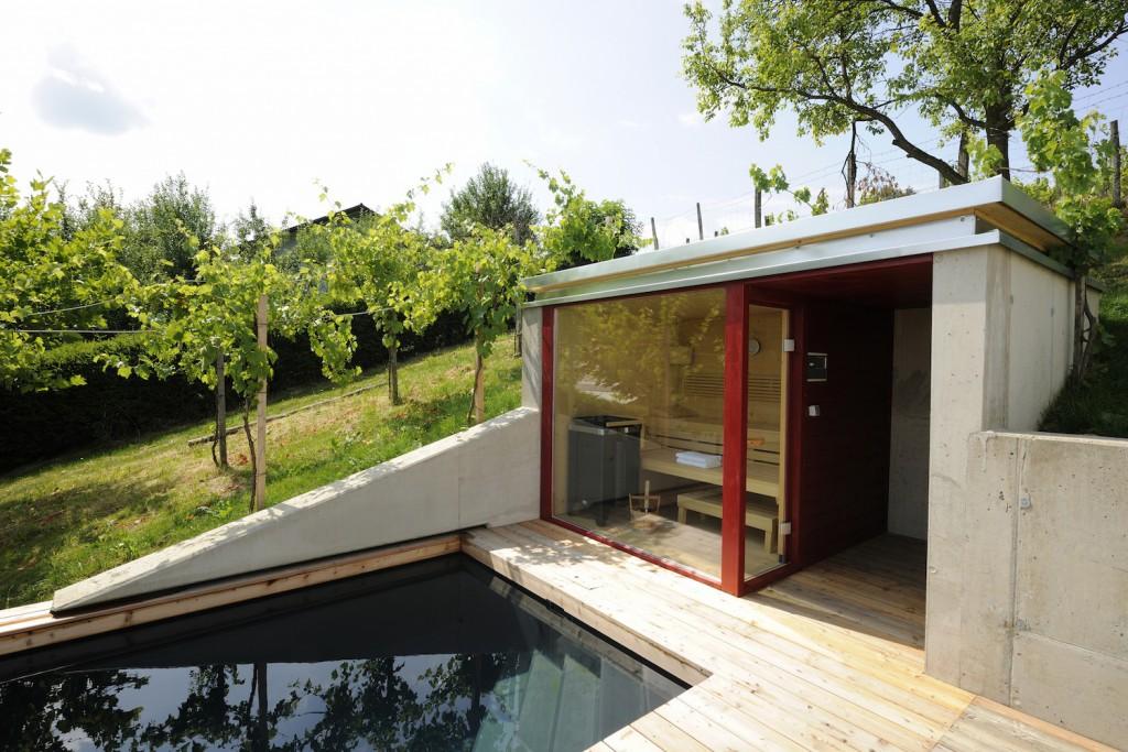 Sauna und Pool gehören zusammen
