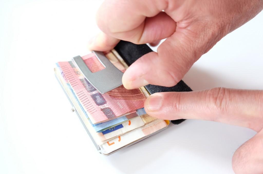 Karten und Geld - alles drin