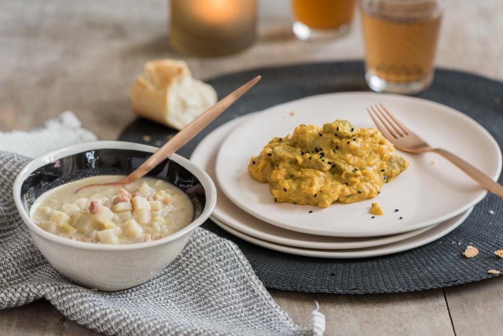 Schmeckt wie hausgemacht: Süsskartoffel-Curry