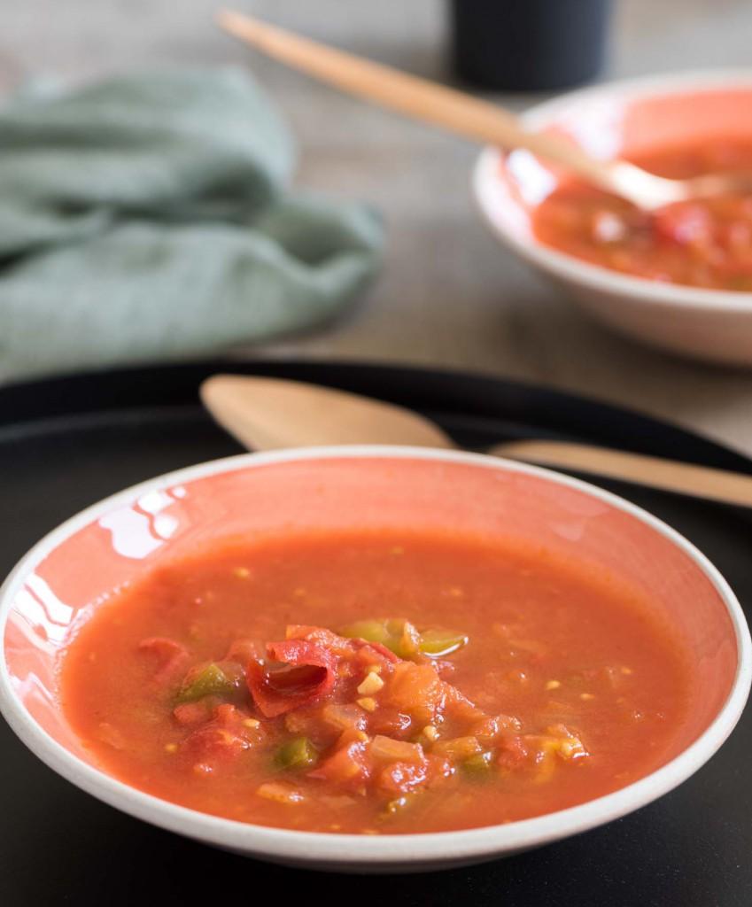 Gourmistas Tomaten-Paprika-Salsa