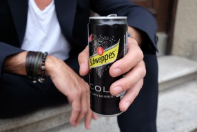 Simply different: Schweppes Cola