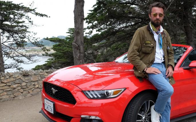 Stilvoll reisen - mit dem Ford Mustang