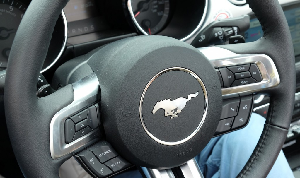 Auf der Höhe der Zeit: der neue Ford Mustang