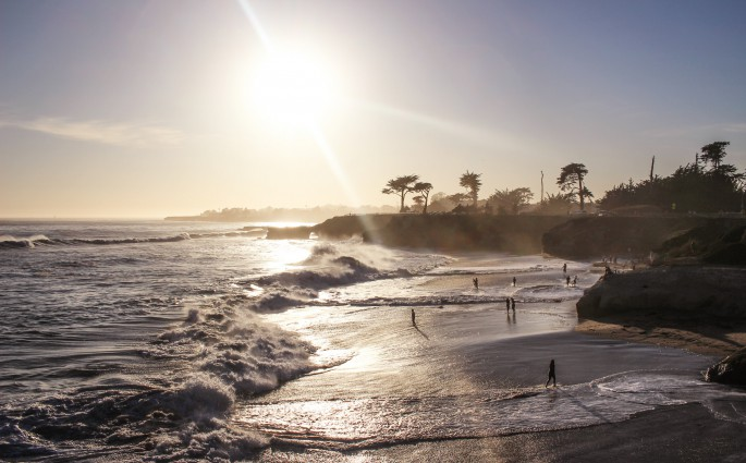 California Dreaming in Santa Cruz