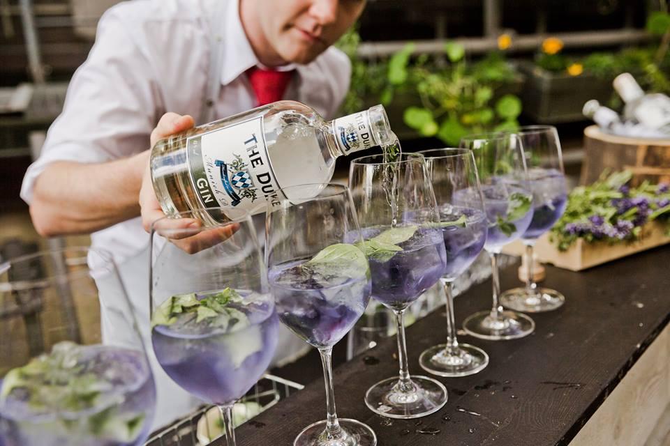 Erstmal einen Aperitif - mit dem Münchner Gin The Duke