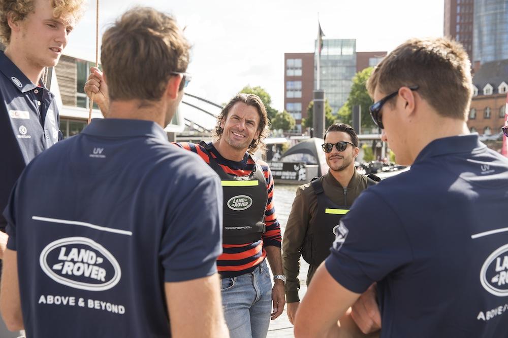 Event für Actionfreunde: Land Rover Extreme Sailing Series 2016