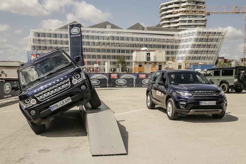 Perfekt für Segler und andere Abenteurer: der Land Rover Discovery