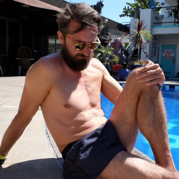 Ich mag meine neue Badehose von Jockey