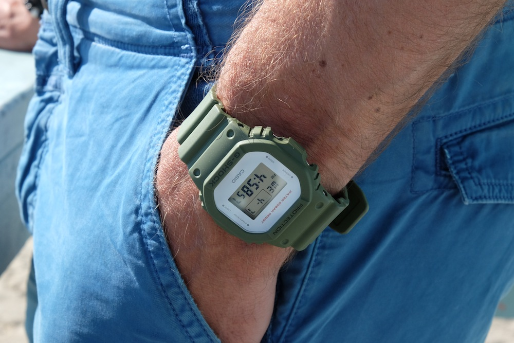 Sieht doch cool aus, die G-Shock!