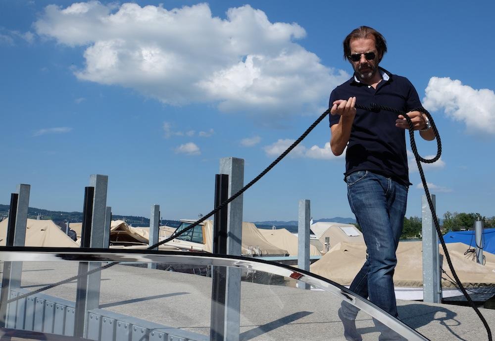 Er ist der Chef: Claudio Pedrazzini