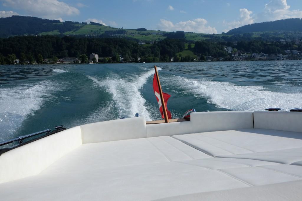 Cruisen auf dem Zürich See