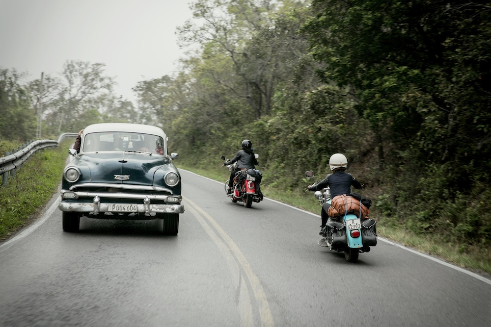 Eine der Stories: Harley-Trip auf Kuba