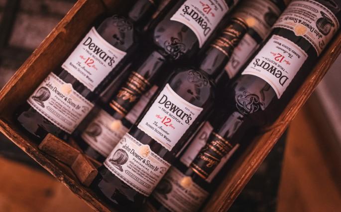 Alle meine Dewar Scotch Whiskys - die Qual der Wahl