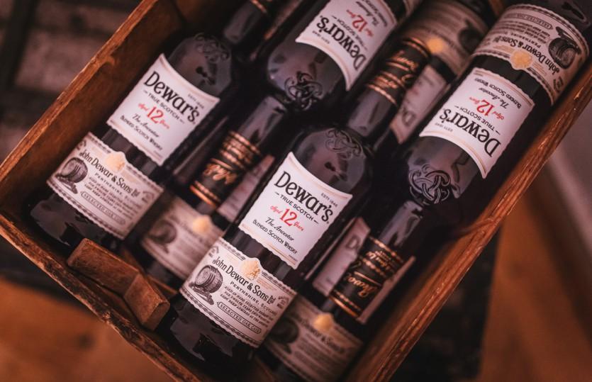 Schottischer Mastermix: Dewar's Whisky