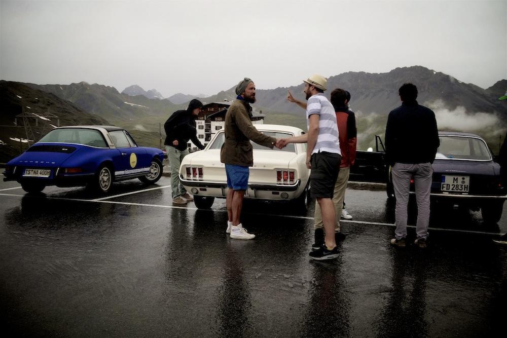 Coole Autos, nette Leute, sch... Wetter