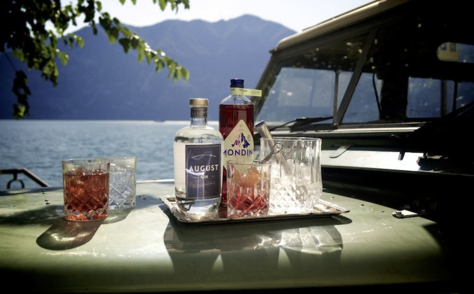 Mondino transalpino: Oldtimer und leckere Drinks!