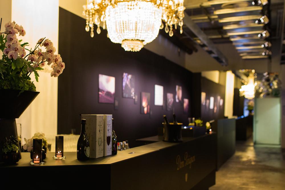Tolle Location, toller Champagner: Das Dom Perignon Popup Studio