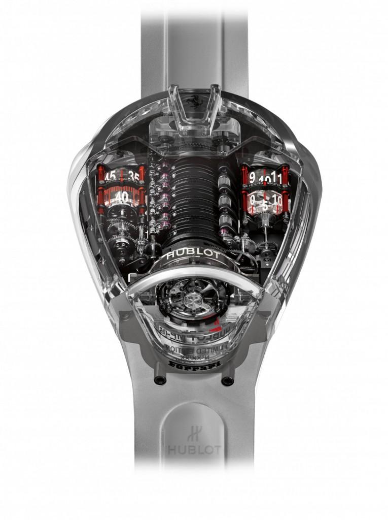 Die exklusive Uhr ist limitiert auf 50 Stück!