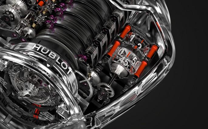 Hublot MP-05 Ferrari sapphire
