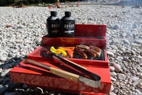 Grill in the Box: Werkzeugkoffer-BBQ