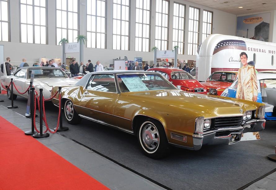 Der Cadillac von 1968 gehörte einst Elvis Presley!