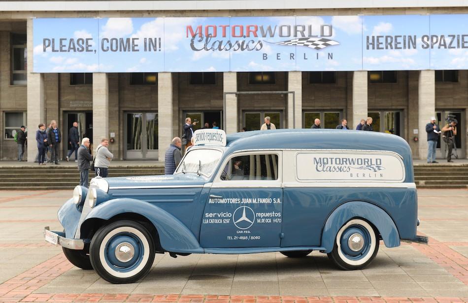 Rarität: der Mercedes Benz aus dem Jahr1954