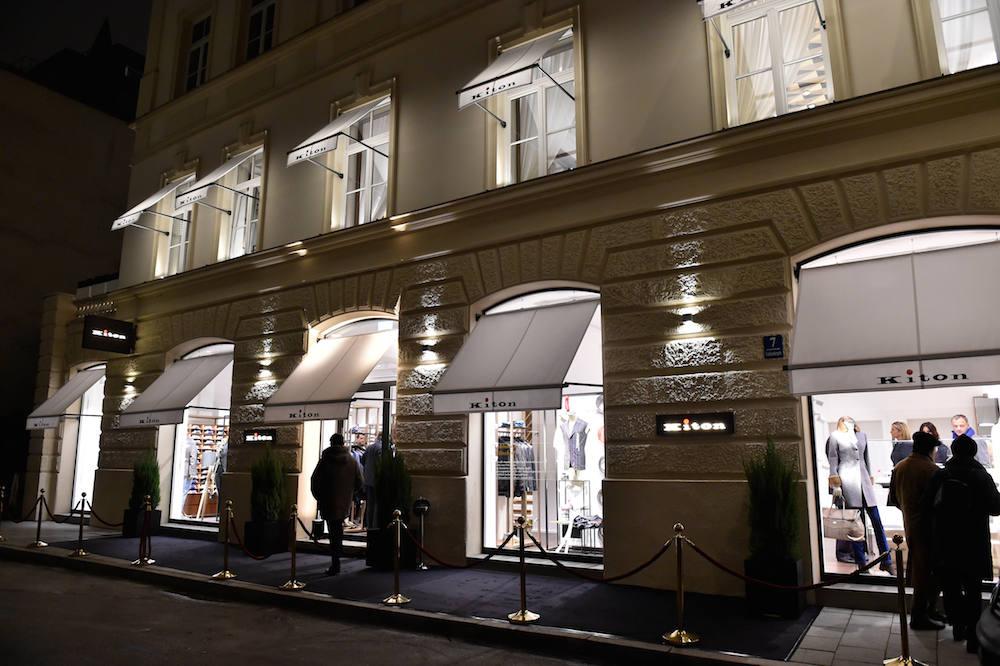Luxustempel: der Kiton Shop unweit der Maximilianstraße