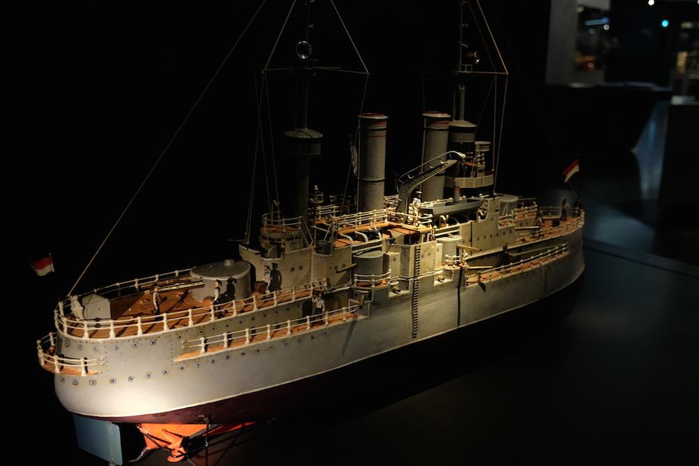 Bei diesem Kriegsschiff stimmt jedes Detail