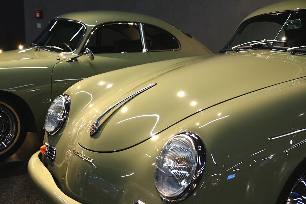 Perfekt erhalten, der 356er Porsche Speedster