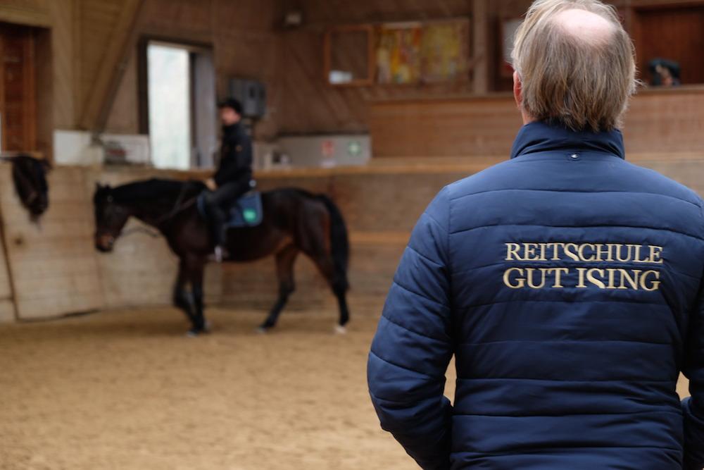 Ja, manchmal liegt das Glück auf dem Rücken der Pferde...