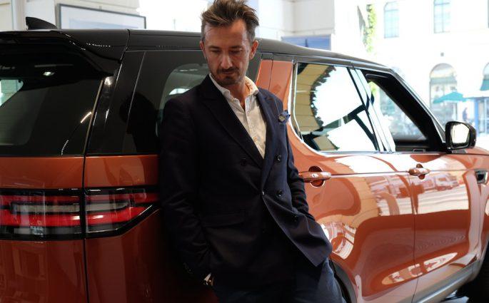 Ein Hingucker - der neue Land Rover Discovery