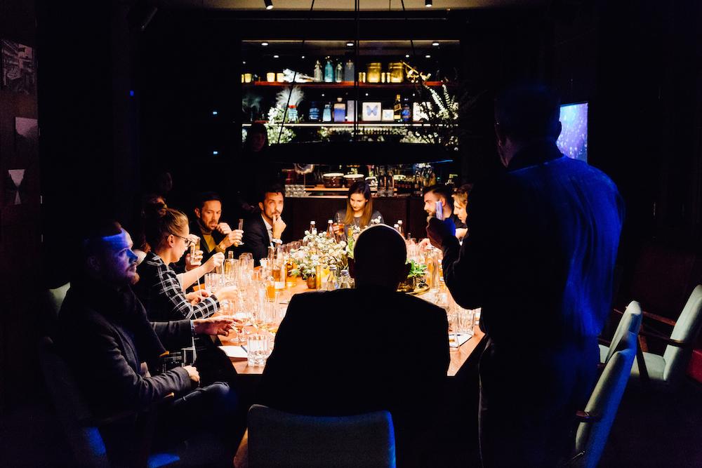 Blogger und Whiskey-Freunde beim exklusiven Tasting