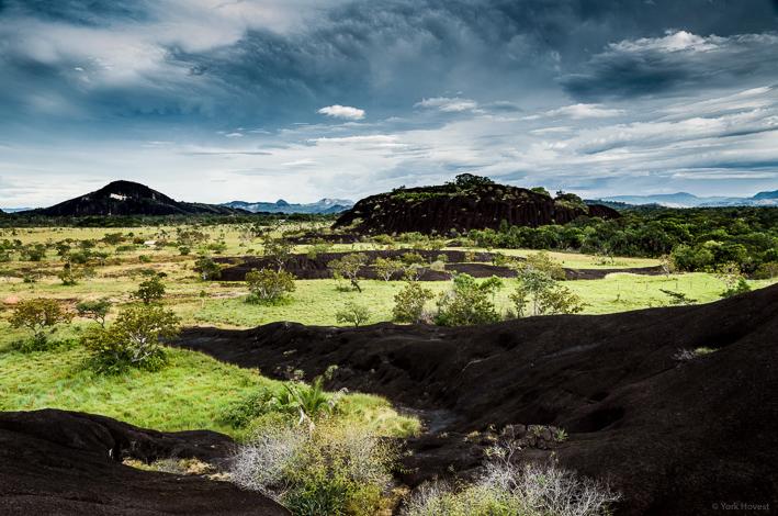 Ein Landschaft wie gemalt - aber in Gefahr