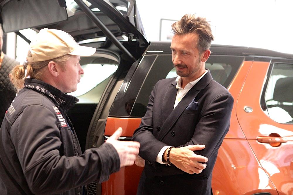 Joey Kelly ist Land Rover Fan - und Abenteurer