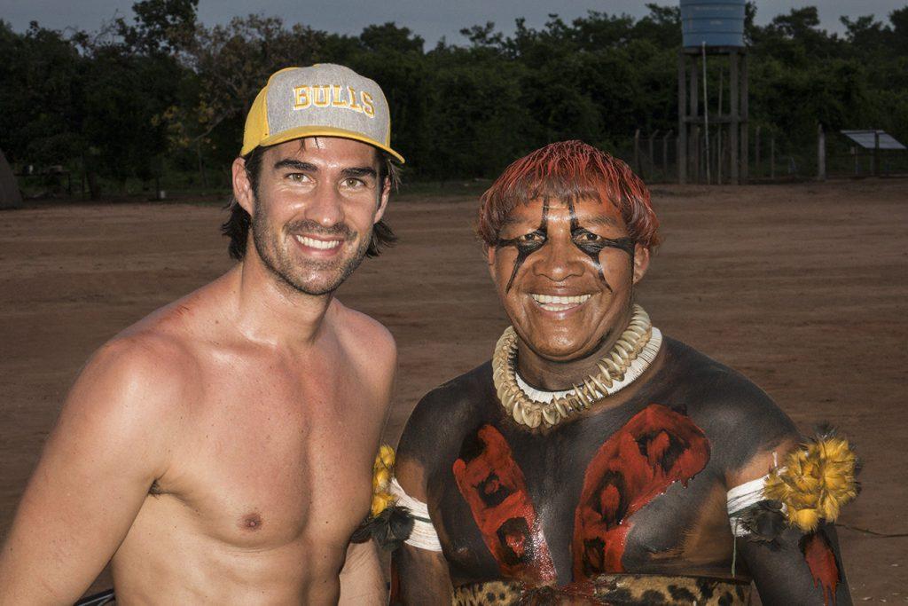 York zu Besuch bei den indigenen Völkern des Amazonas