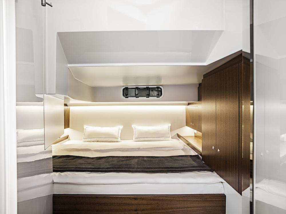 Ein Schlafzimmer, das auch höchsten Ansprüchen genügt...