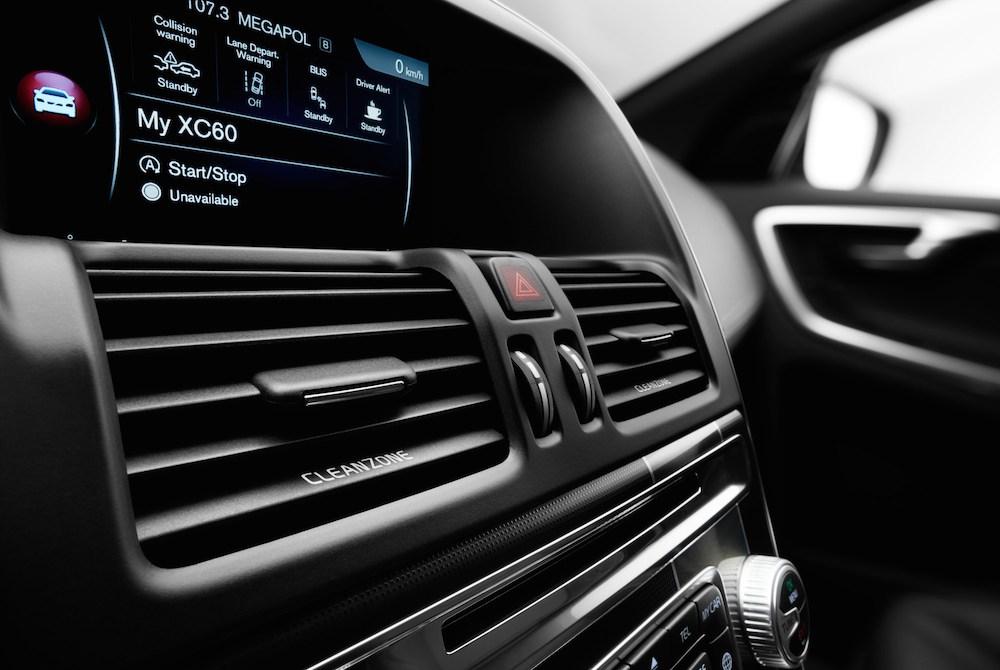 Die CleanZone beim neuen Volvo XC60