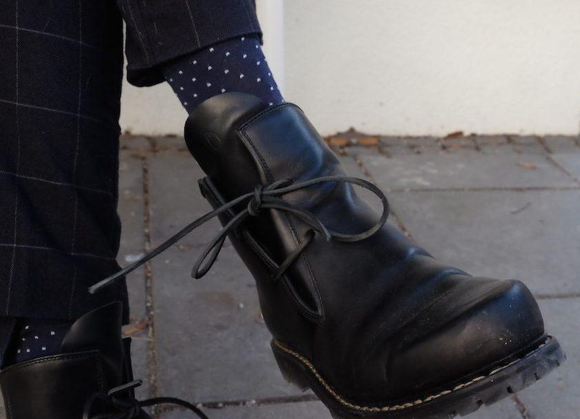 Ein Schuh, der großes Potential hat