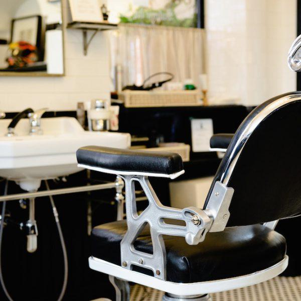 Wie in alten Zeiten, der Carthusia Barber Shop