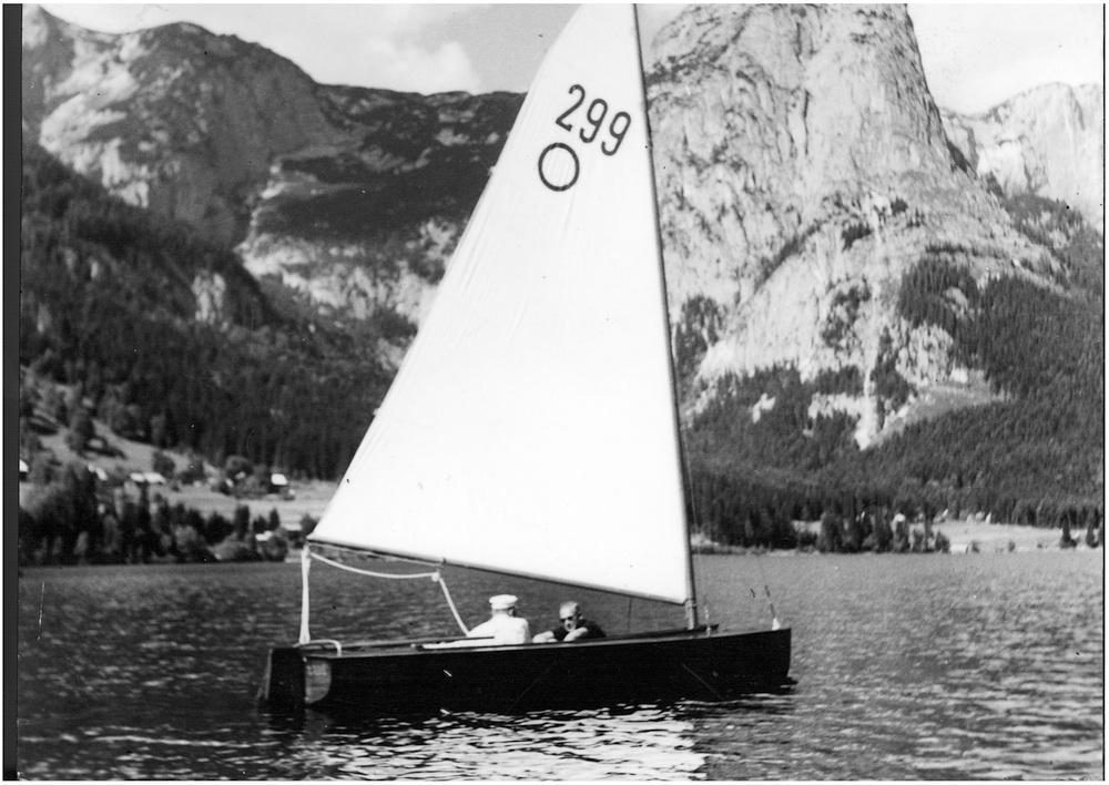 Die Olympia-Jolle von Engelbert Frauscher, 1933
