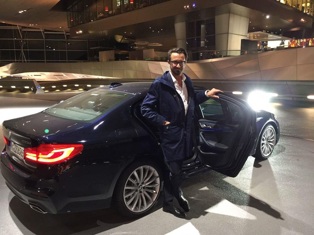 Und nach dem Essen: nachhause mit dem Fahrservice von BMW!