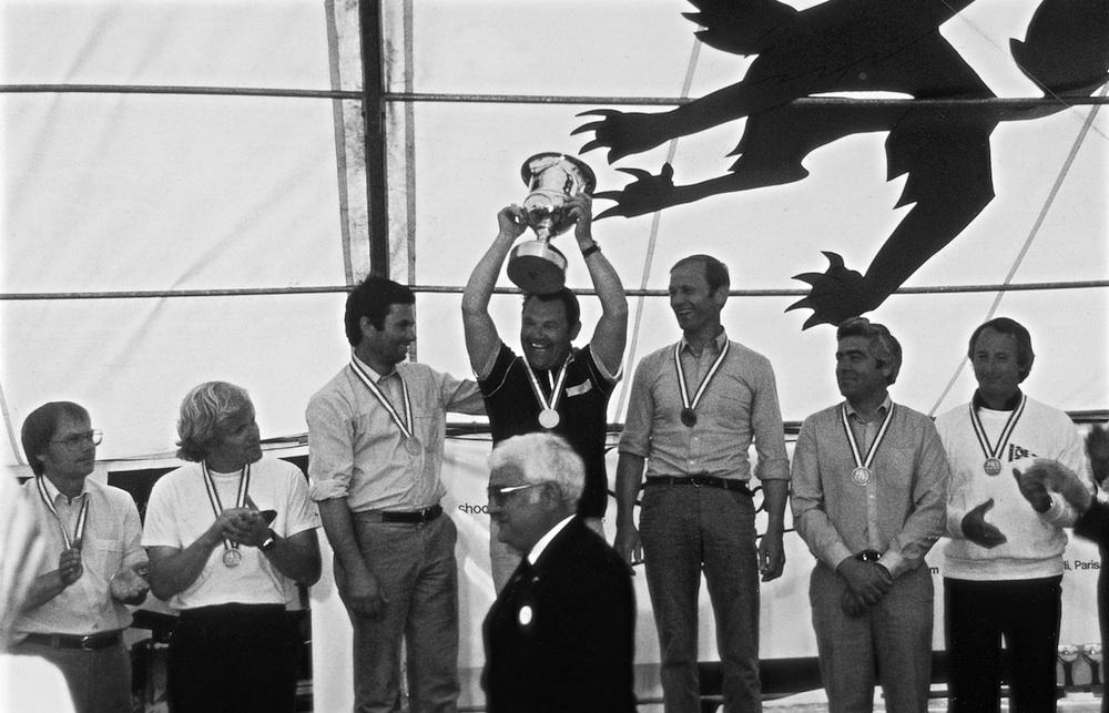 Hans wird 1982 Weltmeister mit dem H-Boot