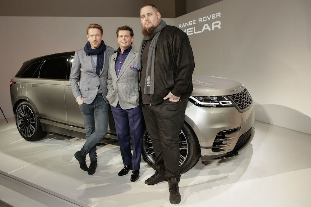 Land Rover Fans: der Schauspieler Damian Lewis und Musiker Rag'n'Bone